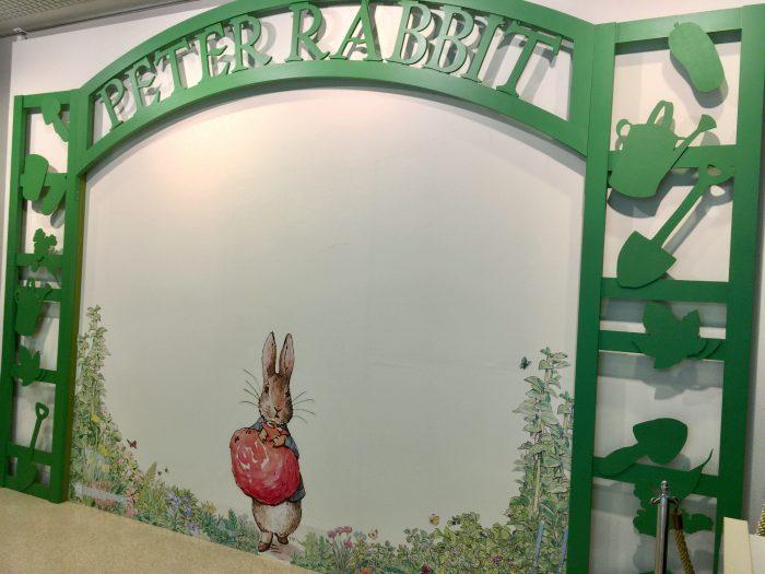 ピーターラビット展 入口