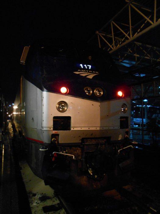 Amtrakでの思い出