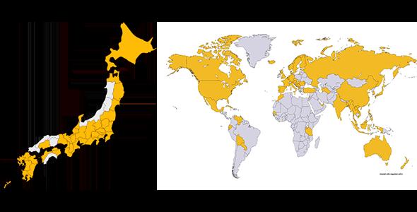 TRIP'S配信地図
