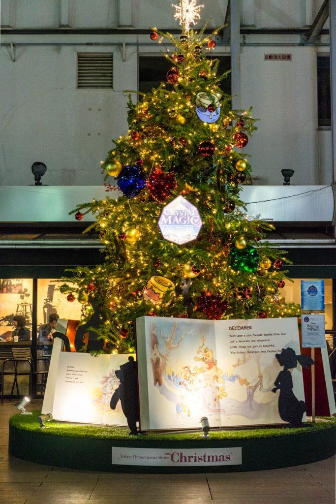 東急ディズニークリスマスイルミネーション 東急百貨店吉祥寺店