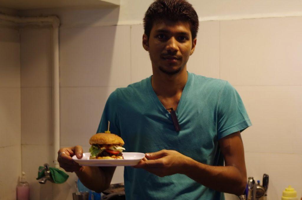 インドのハンバーガー