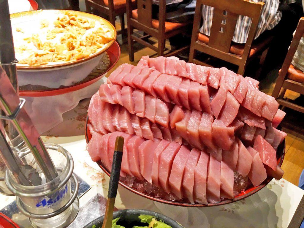 刺身が食べ放題!「たいこ茶屋」のランチで海鮮を食べ尽くす!