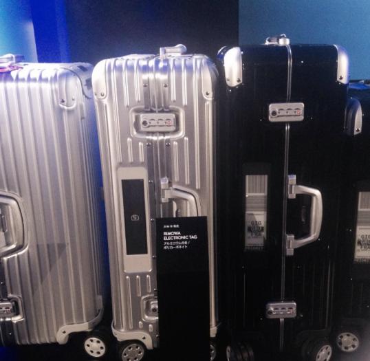 ますます期待が高まる電子タグのスーツケース