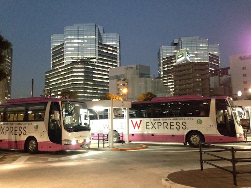 大崎駅から成田空港まで500円で行く方法。しかも直通、USBポートやWi-Fiも!
