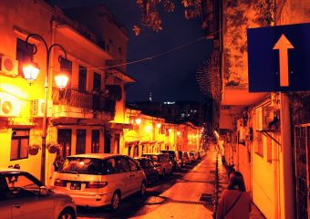 ラザロ地区 夜景