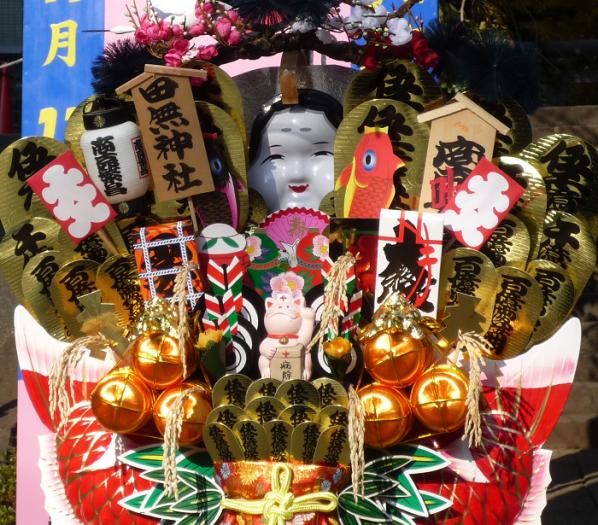 ●3【田無神社-3熊手㊧拡大】(700px)