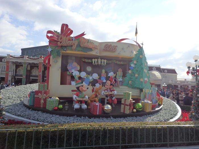 ディズニーランドクリスマス