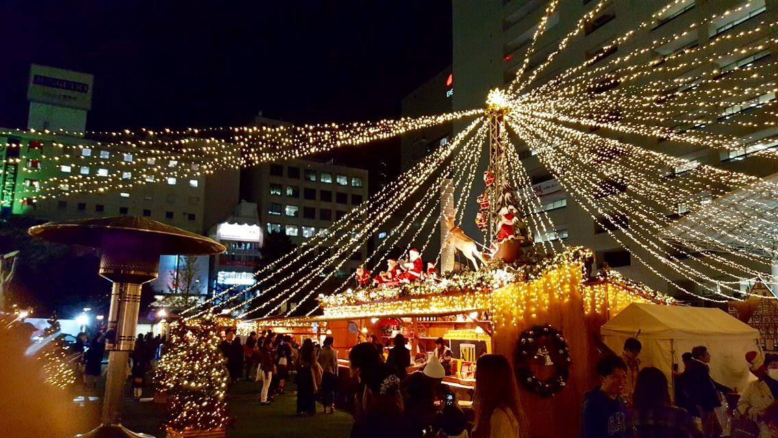 TENJIN ChristmasMarket 市役所