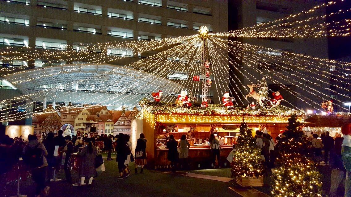 TENJIN ChristmasMarket 遠景