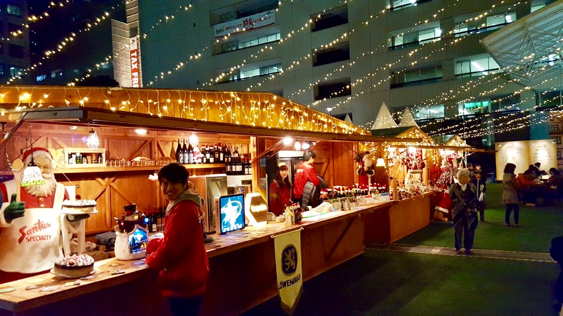TENJIN ChristmasMarket 屋台