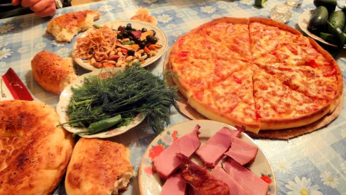 フェルガナのピザ