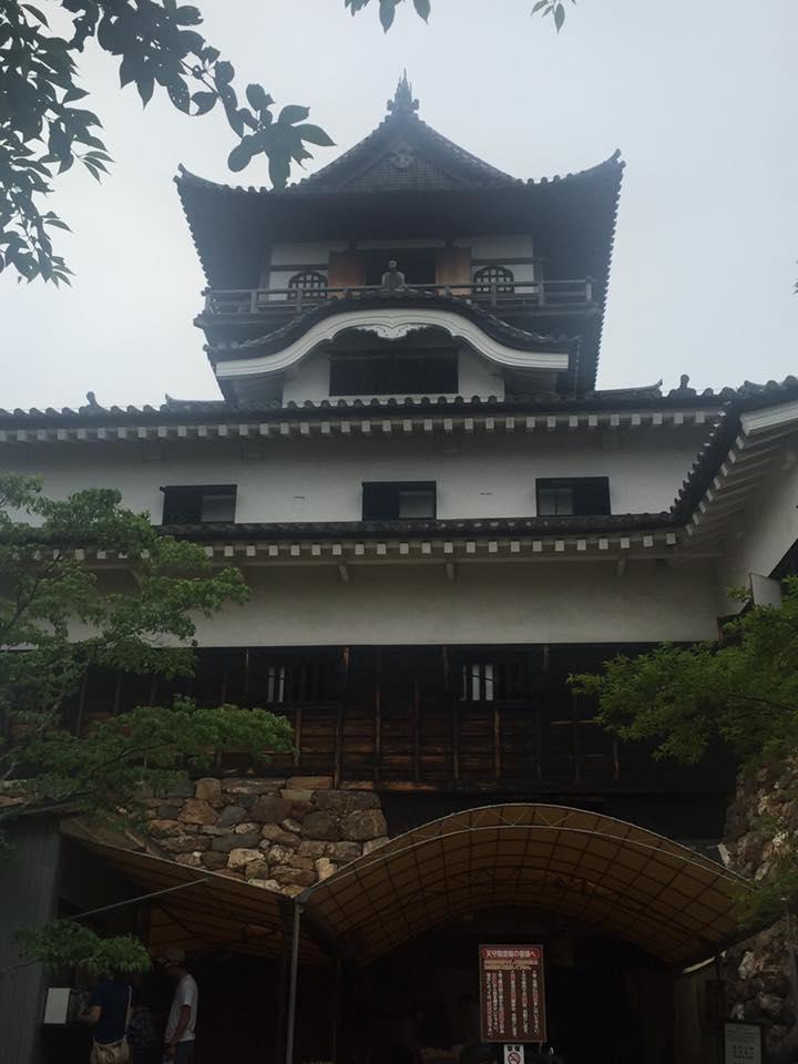 国宝犬山城の天守閣