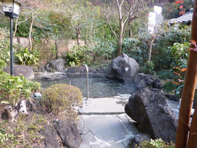 飯山温泉・美登利園