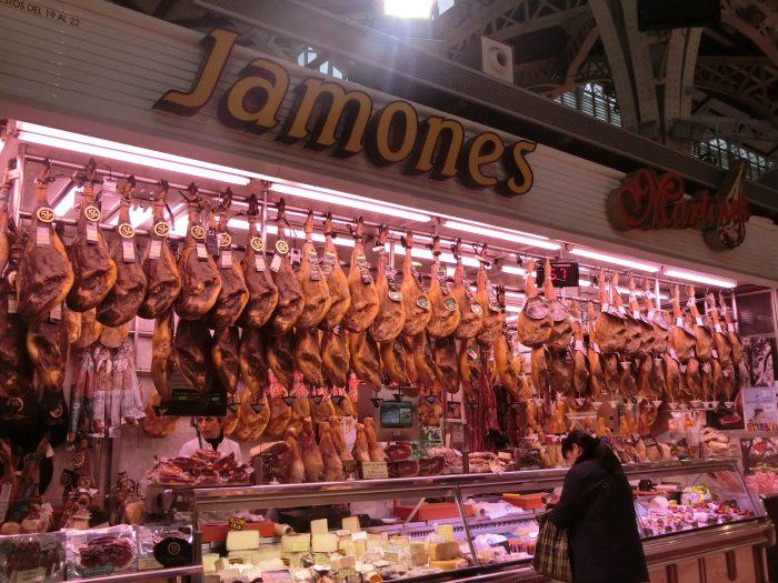 バレンシア市場