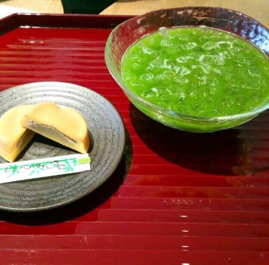 京都抹茶カフェ