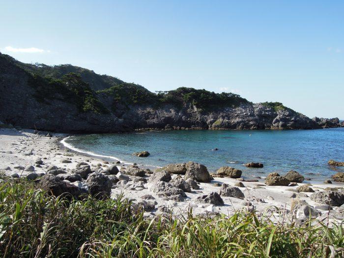 式根島 海