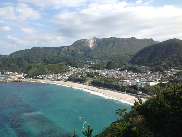 神津島 海