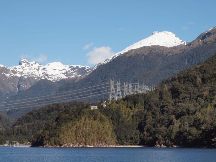 ニュージーランド南島 発電所