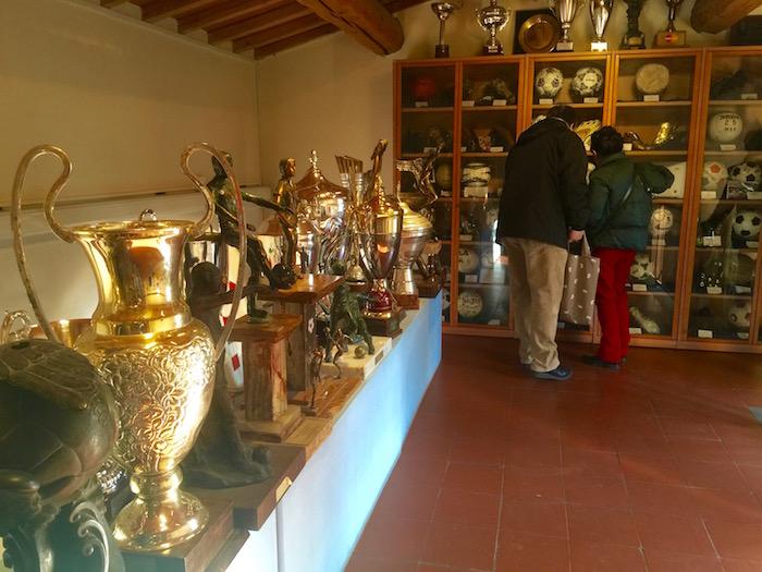 イタリア サッカーミュージアム
