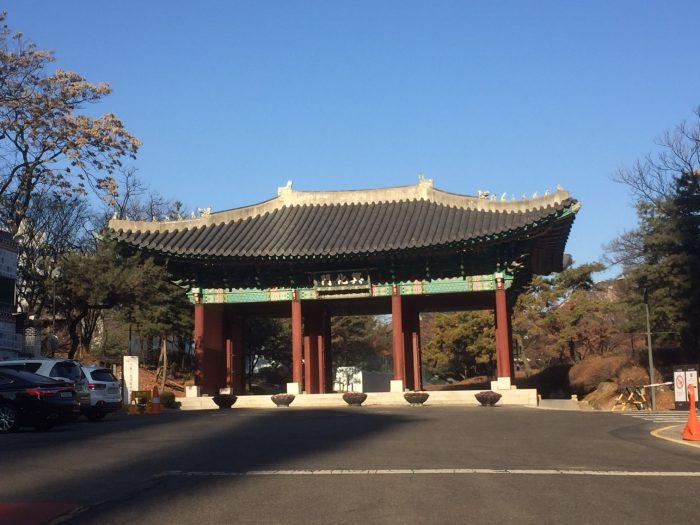 歴博~キョンヒ宮の外観