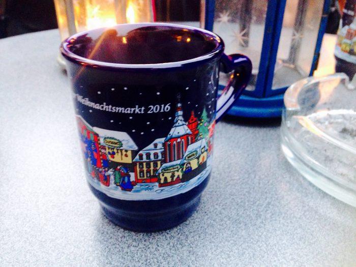 クリスマスマーケット名物マグカップ