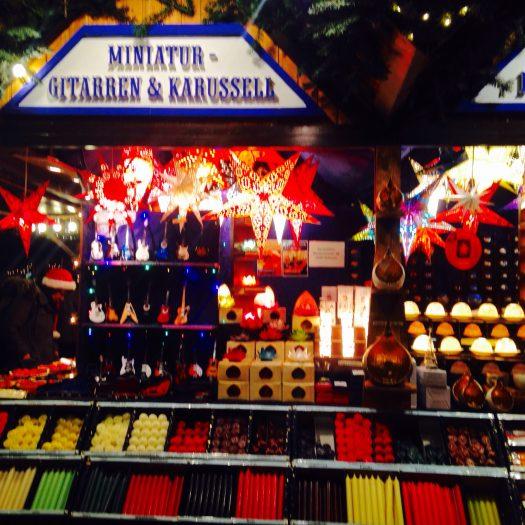 クリスマスマーケットの小物