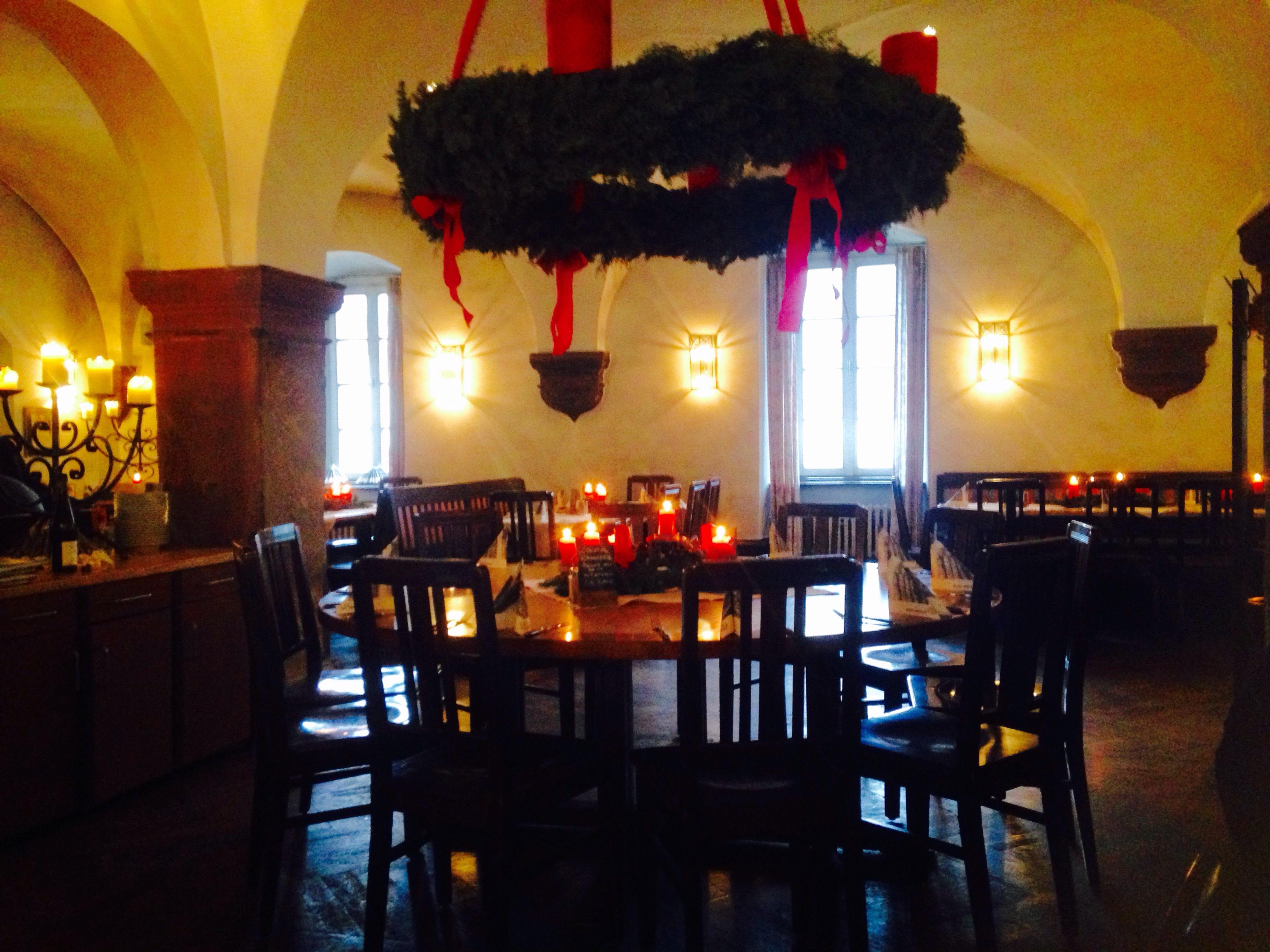 クロスターエバーバッハのレストラン