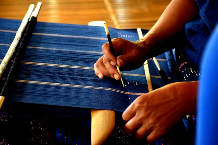 カトゥー族織物