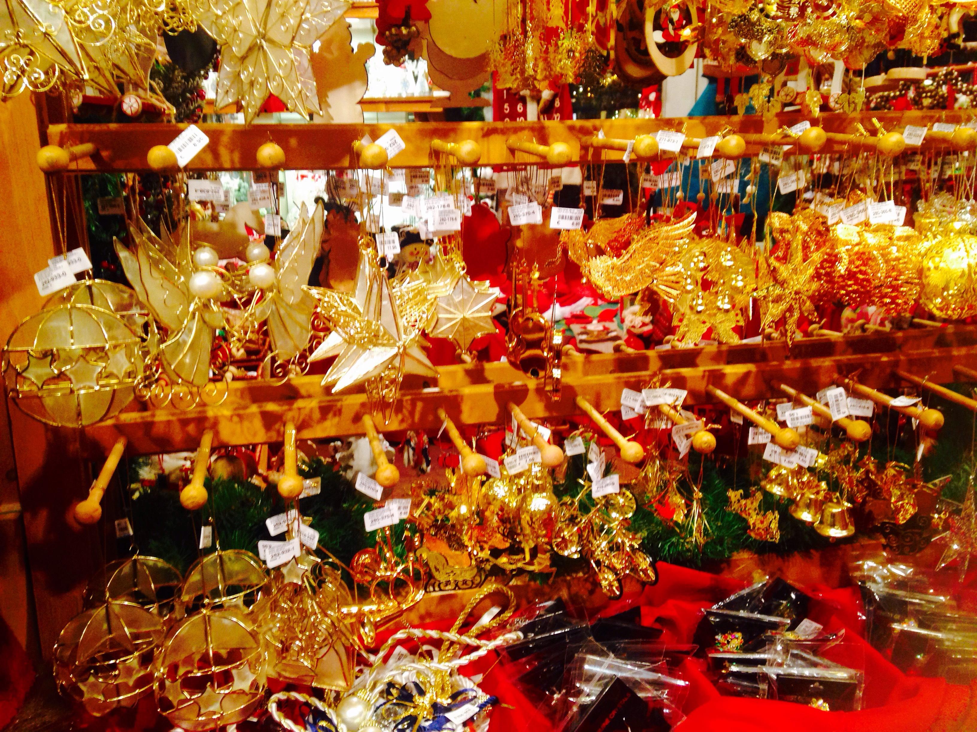 美しいクリスマス装飾のお土産