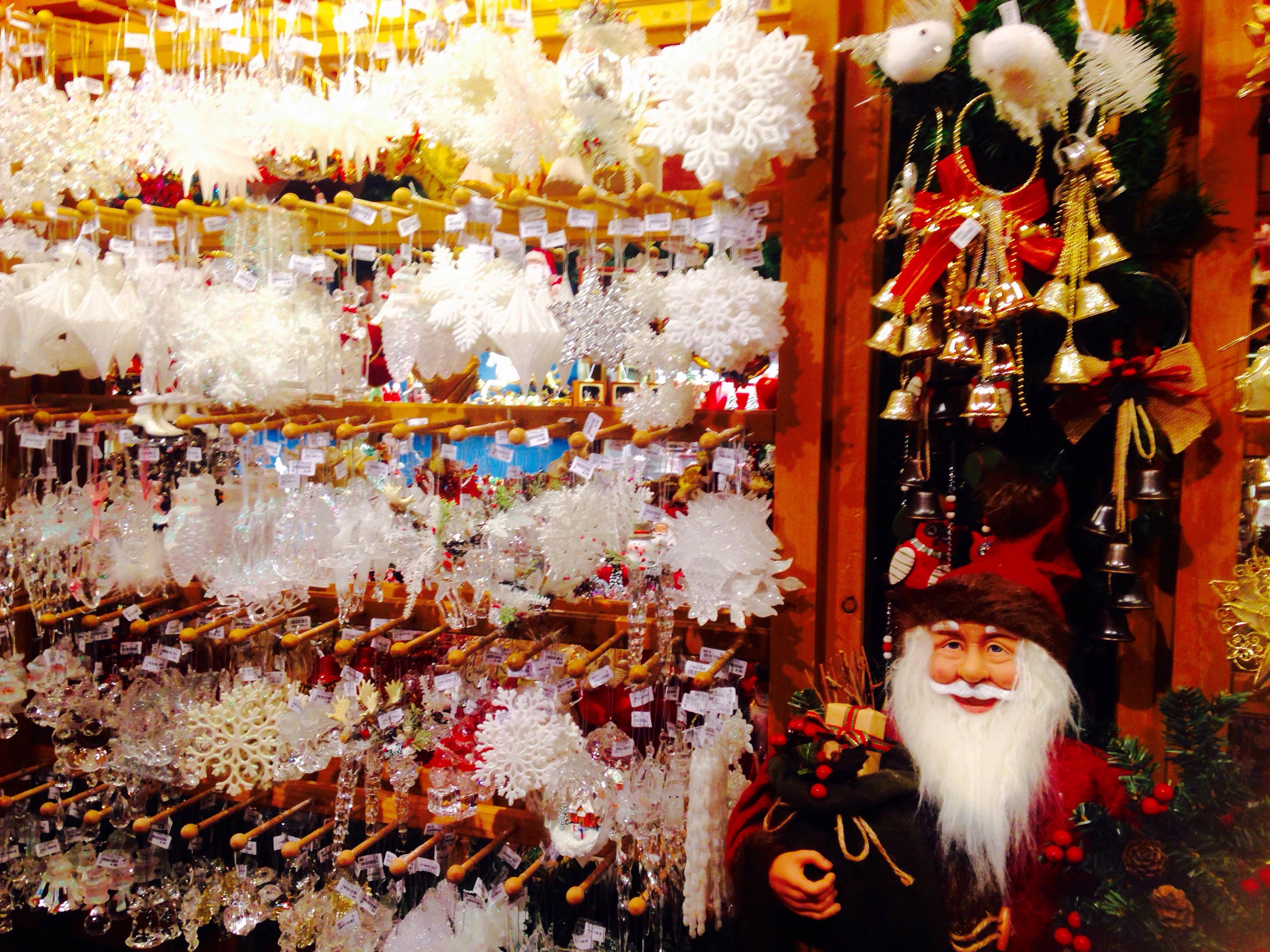 美しいクリスマス装飾のお土産2