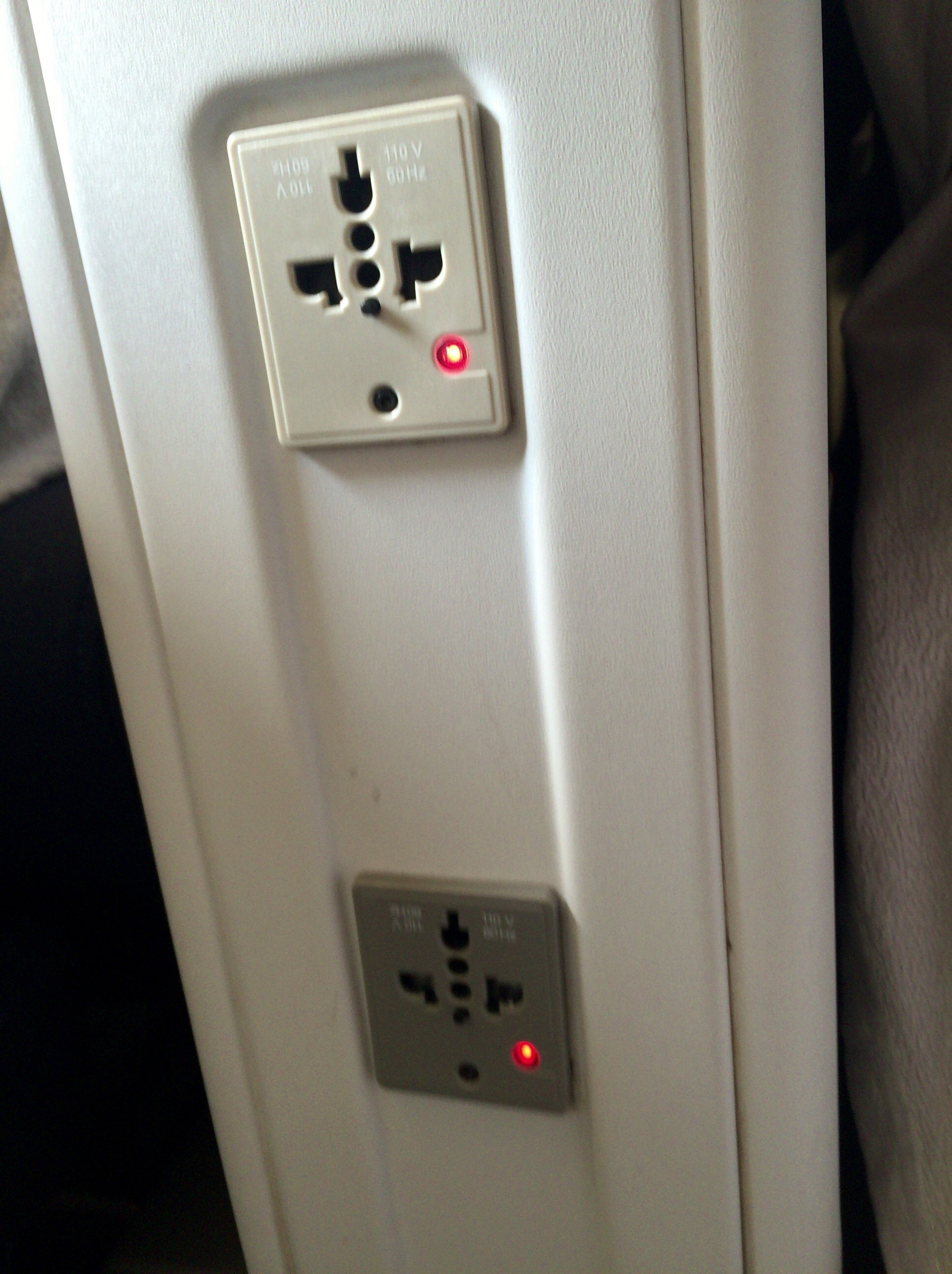 AF座席充電スポット