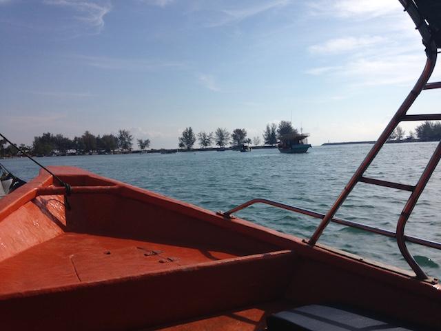 カパス島へ