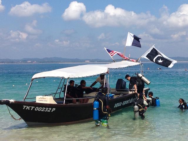 カパス島ダイビング