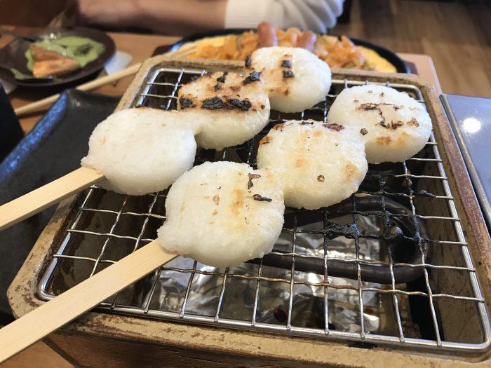 おかげ庵 五平餅