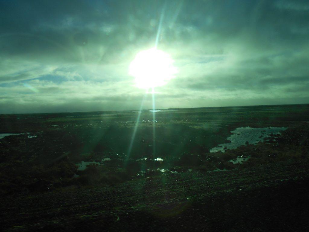 アイスランド車窓