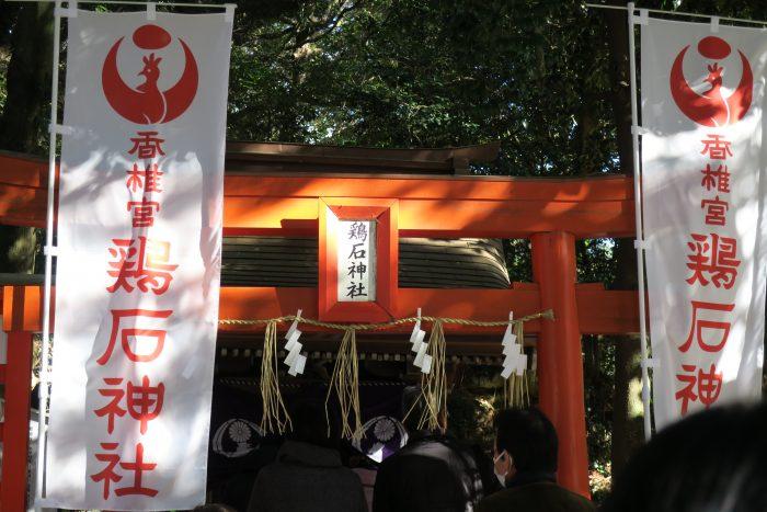 鶏石神社アップ