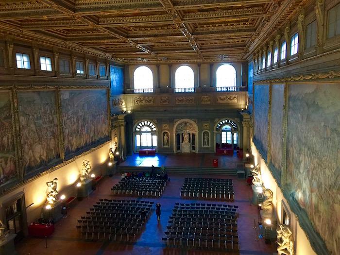 映画「インフェルノ」のロケ地を巡る、ヴェッキオ宮殿主催のツアーがある!