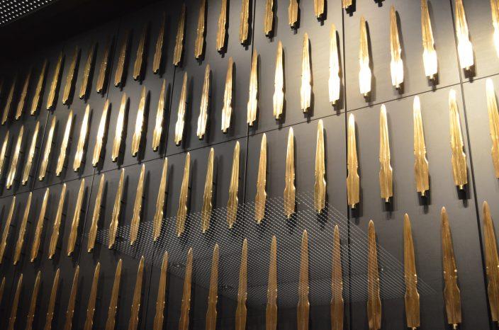 出雲古代歴史博物館での展示