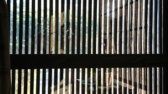 トトロの森にある木空人(もっからにん)はジブリっぽい