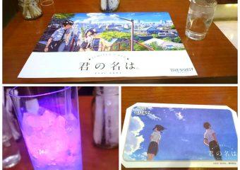 君の名は。カフェin名古屋