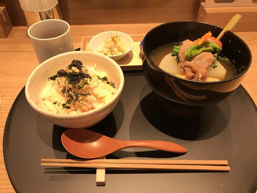 和のスープストック登場!「おだし東京」がやさしい味でした。