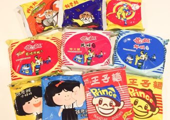 台湾の袋麺一覧画像