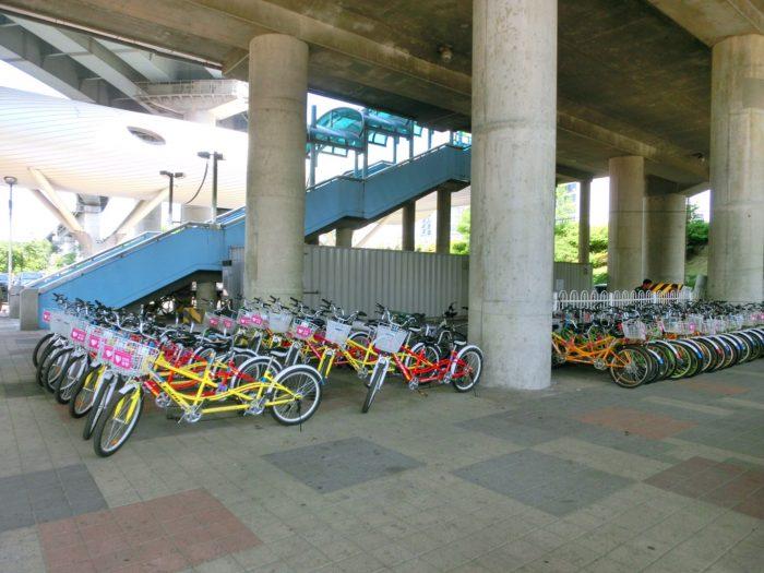 ソウルでレンタサイクル