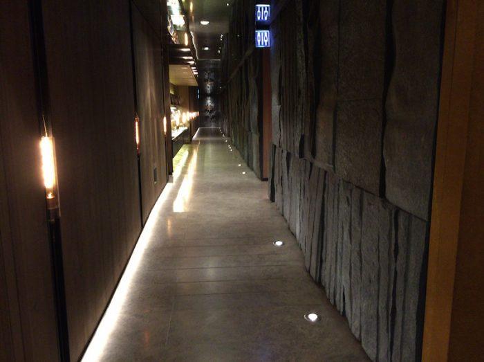TPE T1 CIラウンジエントランス廊下