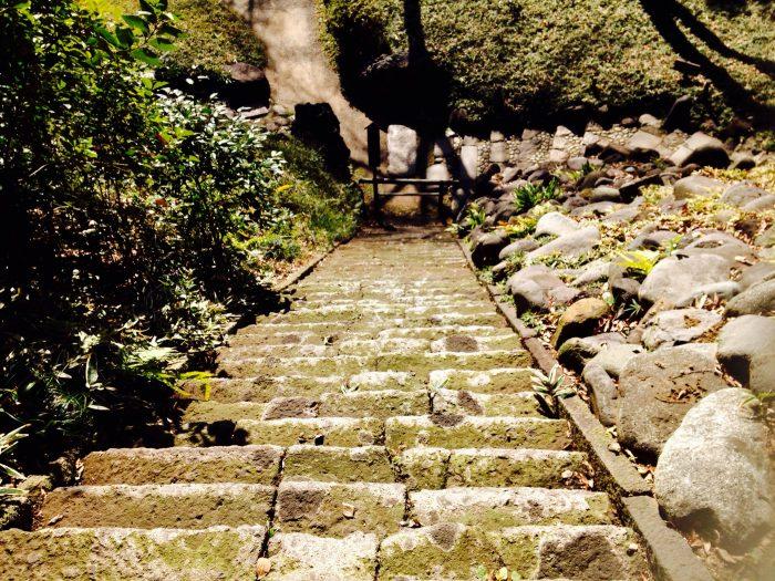 47段もの階段