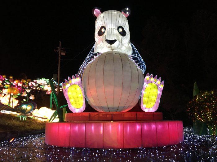 巨大パンダ