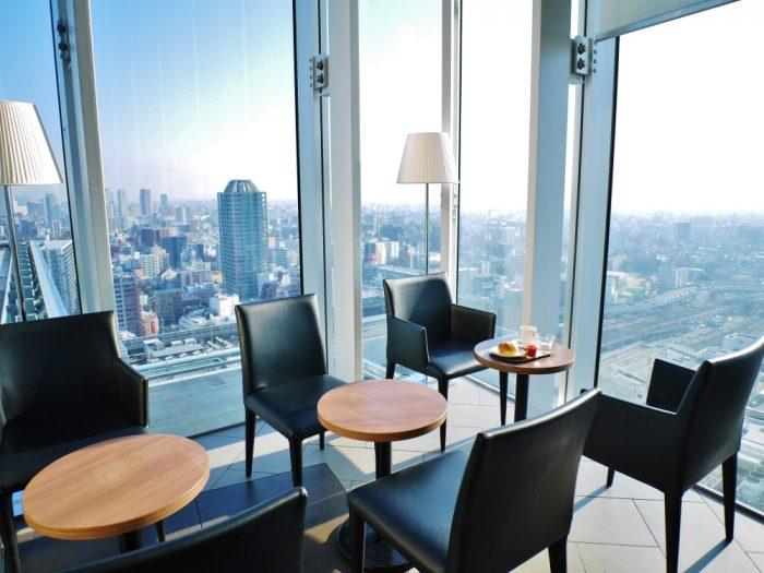 あべのハルカスの1/3の眺めを1/3のカフェ代だけで楽しめる穴場カフェ