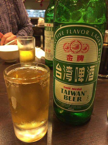 點水楼台湾ビール