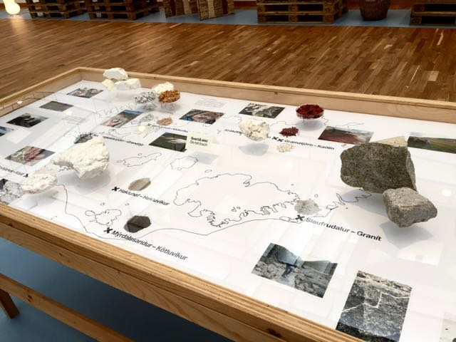 is器岩の採取