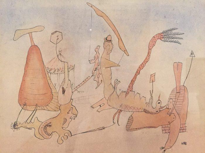 ヴォルス 人物と空想の動物たち